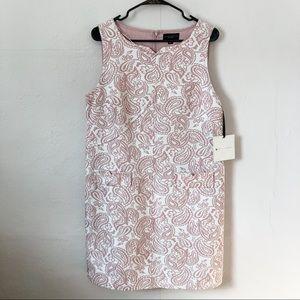 Victoria Beckham Target Pink Print Shift Dress